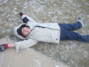 snow angel
