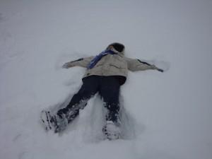 snow angel nate
