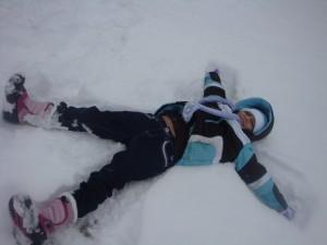 snow angel bre