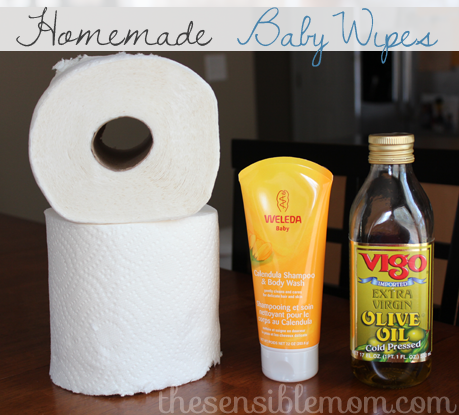 DIY: Baby Wipes