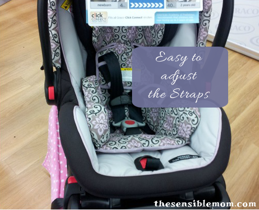 The Simple Safe Adjust Harness System On Graco Click Connect Car Seat Allows You To And Headrest With Just One Hand SO Easy