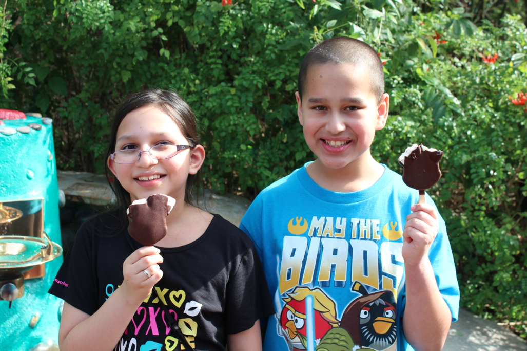 Mickey mouse ice cream bars