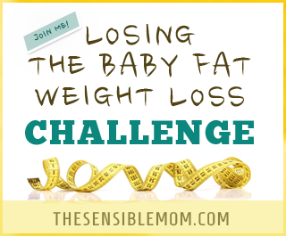 Losing the Baby Fat Weight Loss Challenge: Join Me as I seek to lose the weight I put on over five pregnancies! #weightloss #weightlossafterpregnancy