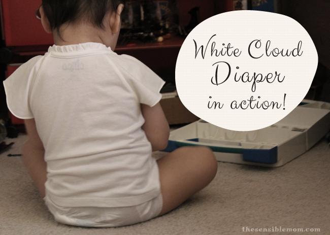 white cloud diaper
