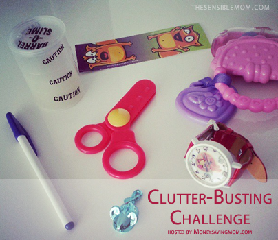 cleaning out clutter