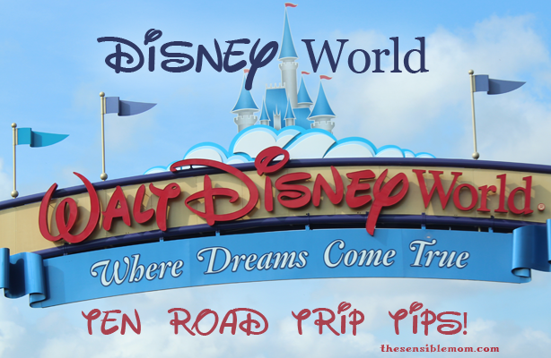 road trip tips for disney world