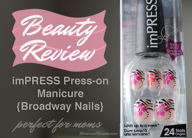 easy nails for moms