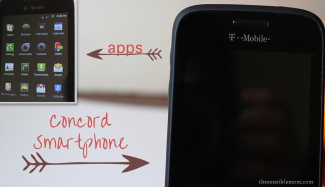 concord t-mobile smartphone