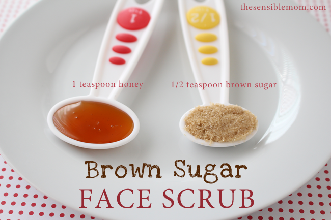 Homemade Sugar ScrubBrown Sugar Face Scrub