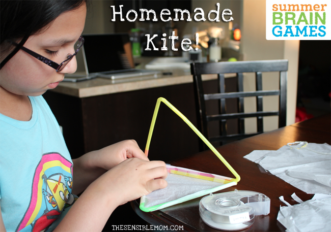 homemade kite