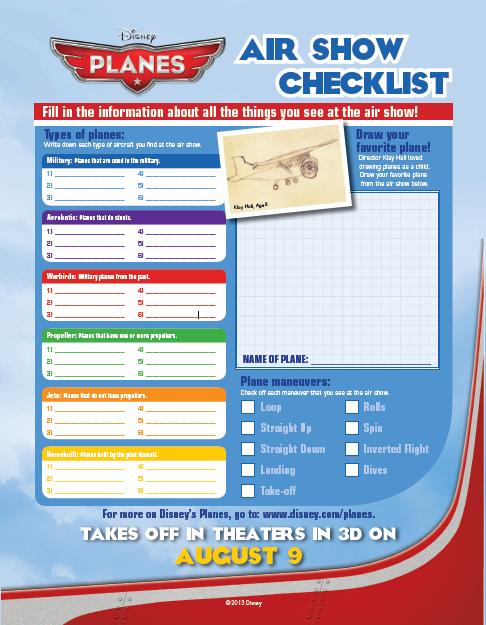 Air Show Checklist