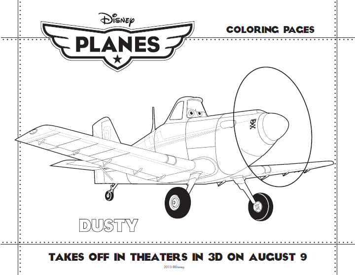 Planes: Kids Printables and Airplane Activities - The Sensible Mom