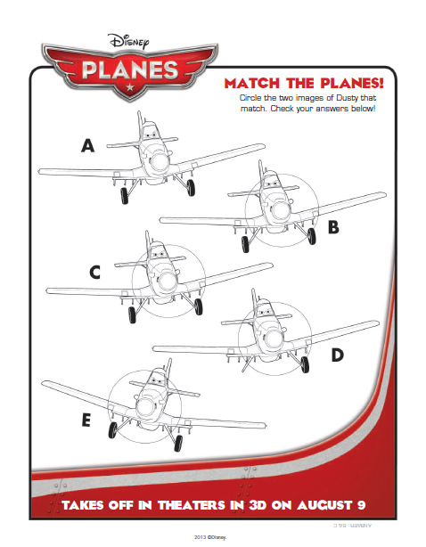 Match the Planes