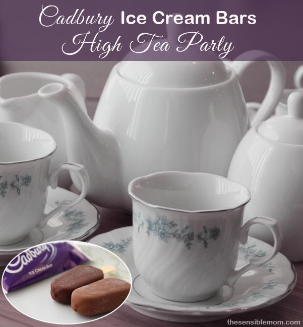 Cadbury Ice Cream Bars 'High Tea' Party
