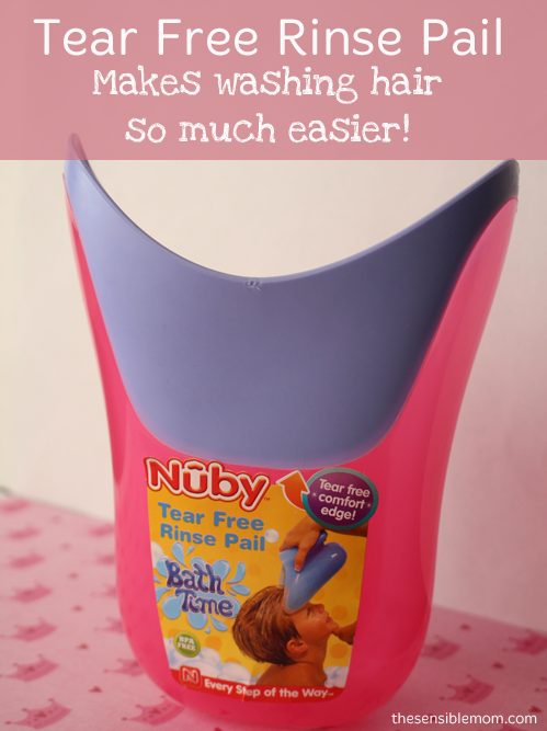 Nuby Tear Free Rinse Pail Review