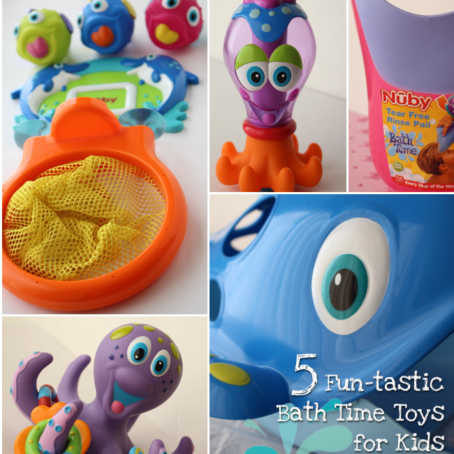 5 Fun-tastic Nuby Bath Time Toys for Kids!