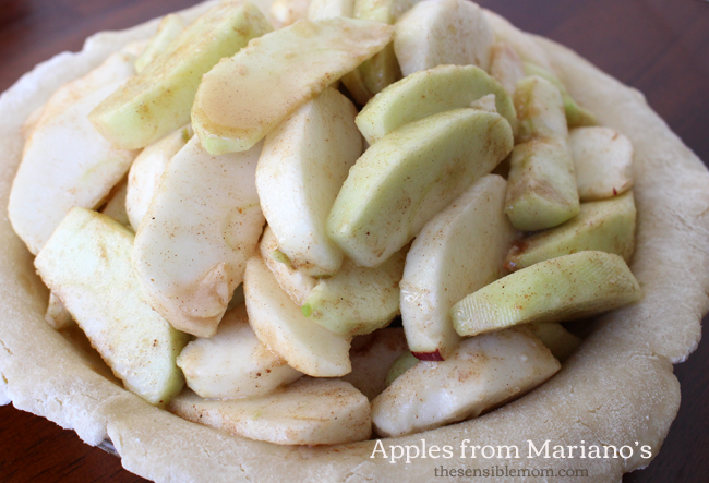 Recipe for Apple Pie and Double Pie Crust #MyMarianos #shop