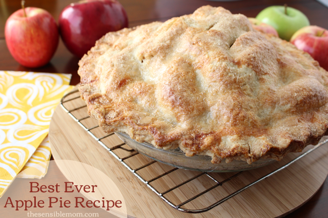 Recipe: Best Ever Apple Pie (and recipe for a double pie crust)