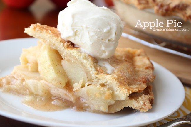 Recipe for Apple Pie & Double Pie Crust #MyMarianos #shop #dessert