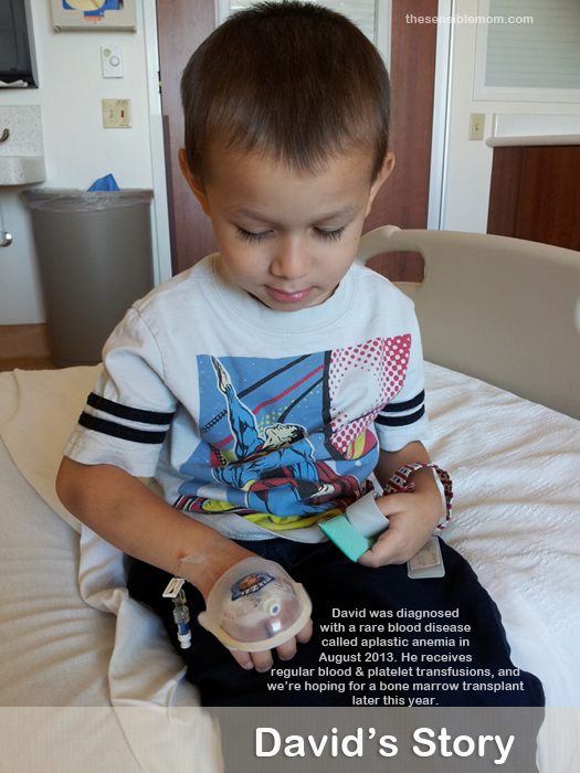 David's Story: a Journey Through Childhood Illness #AplasticAnemia