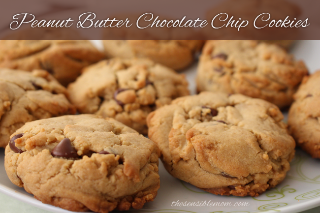 Peanut Butter Chocolate Chip Cookie Recipe #EnergyToBurn