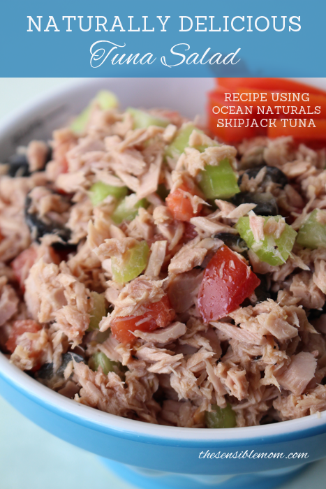 Wild Premium Tuna used to make Healthy Tuna Salad #OceanNaturals #shop