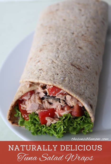 Ocean Naturals Tuna Salad Wraps #OceanNaturals #shop