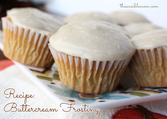Recipe: Buttercream Frosting & Pumpkin Spice Cupcakes - Absolutely Delicious!