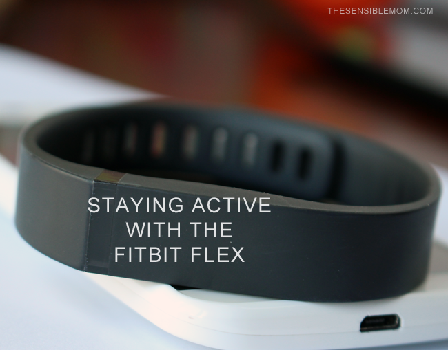 Staying Active with the Fitbit Flex #SprintMom