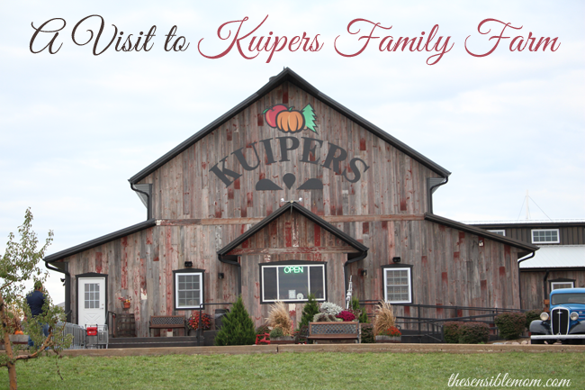 A Visit to Kuipers Family Farm - And other Fall Fun!