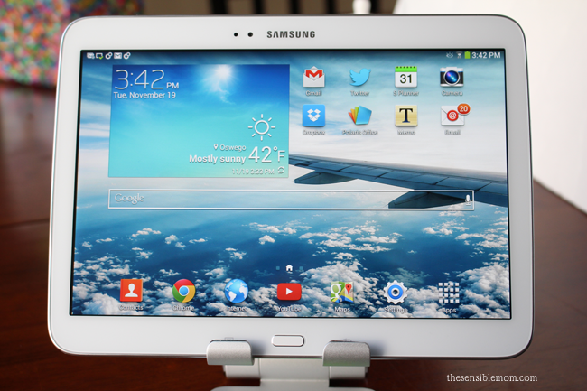A Tablet that Fits into Your Work-at-Home Mom Life - The Samsung Galaxy Tab 3 #IntelTablets #shop #cbias