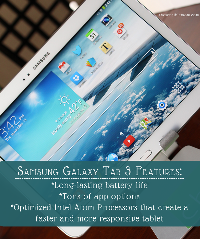 Samsung Galaxy Tab 3 Features #shop