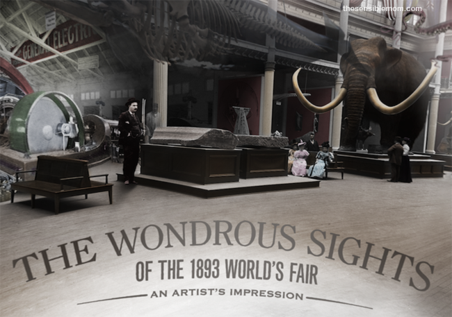 1893 Worlds Fair #ChicagoWorldsFair