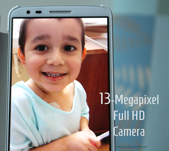 13-megapixel Full HD camera