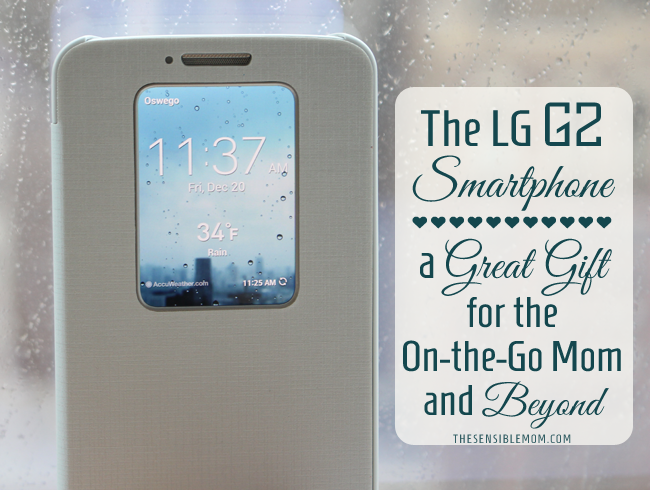 The LG G2 Smartphone – A Great Gift for the On-the-Go Mom and Beyond #MC #SprintMom