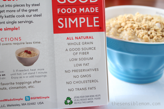 Eat Clean, Eat Simple with Good Food Made Simple via The Sensible Mom #EatClean
