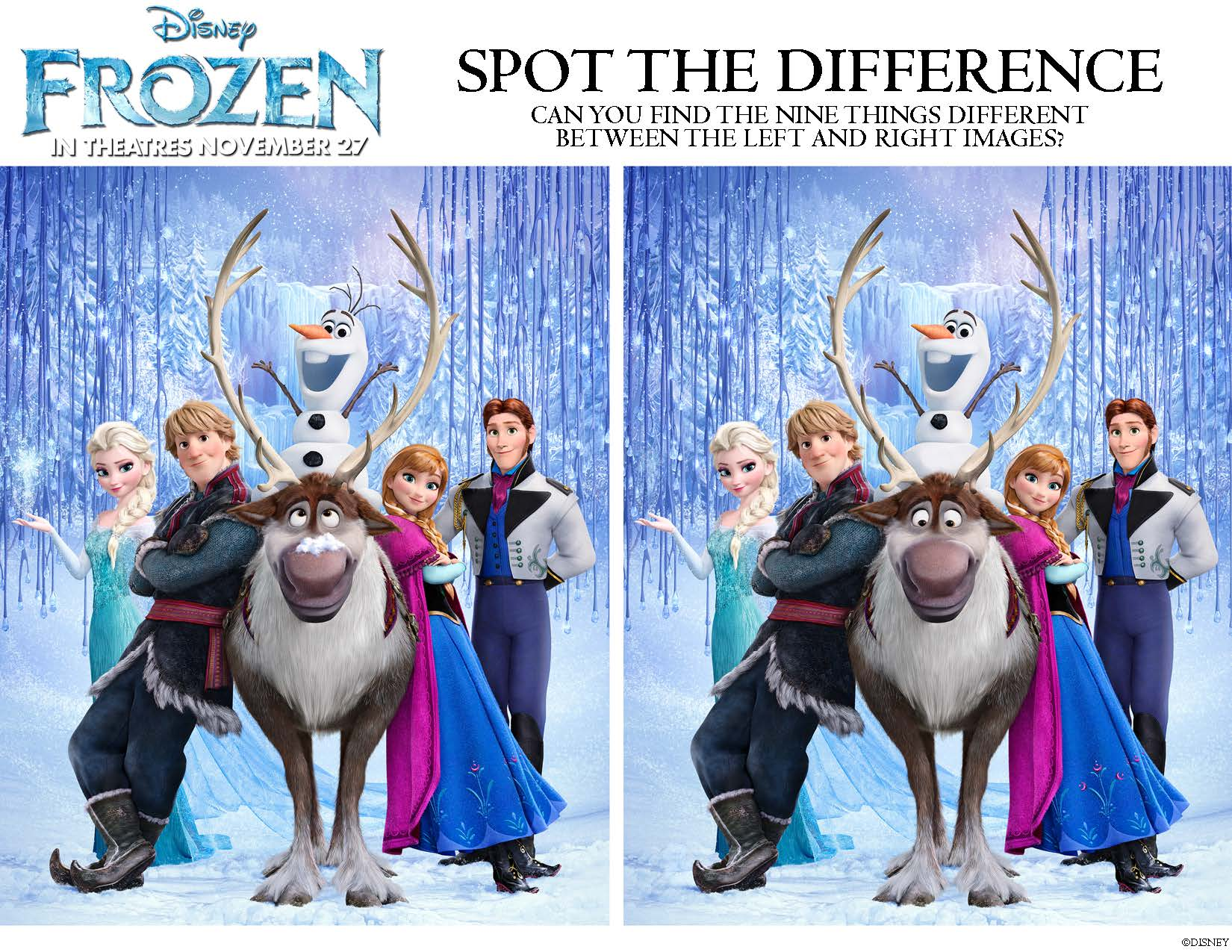 Disney's FROZEN: Printable Activities and Games for Kids