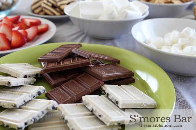 The Best S'mores Bar, a S'mores Trail Mix Recipe, and Clean Up Made Easy #showusyourmess #PMedia #ad