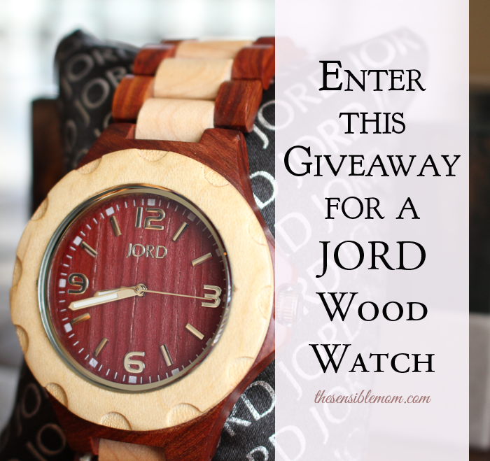 JORD Wood Watches are gorgeous and great for guys and gals! #giveaway