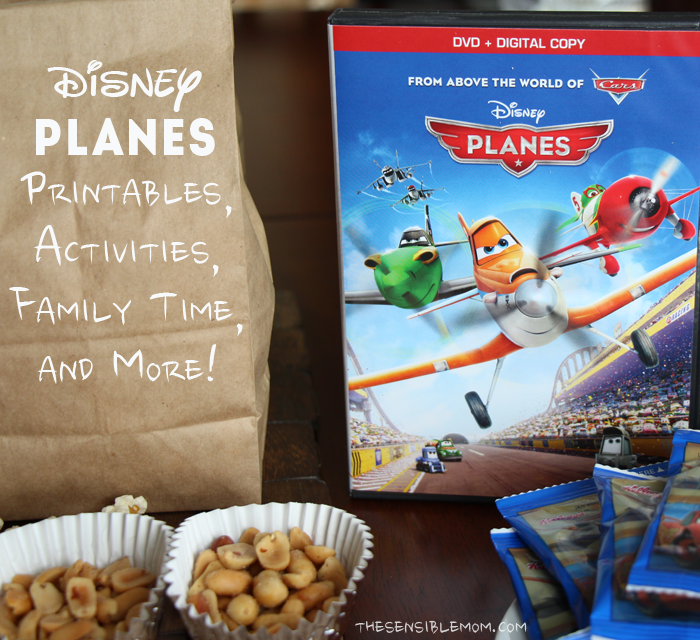 Disney PLANES: Printables, Activities, Family Time, and More!