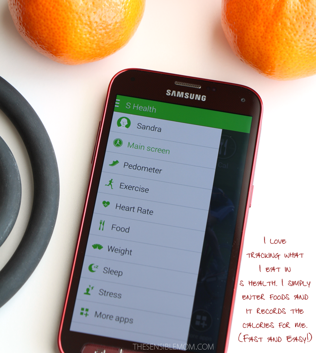 Learn how the Samsung Galaxy S 5 Smartphone can make workouts and eating healthy easier and more enjoyable! #Tech #Health