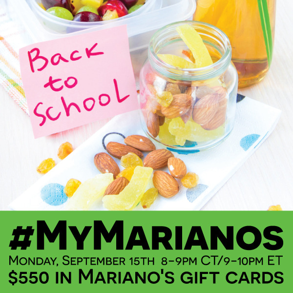 #MyMarianos-Twitter-Party-9-15