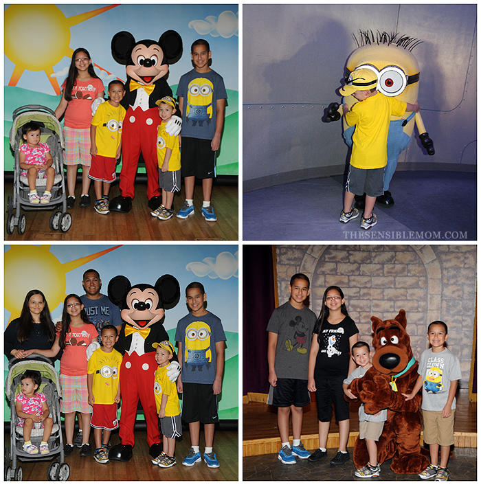 Give Kids the World Character Meetings with Mickey and Scooby Doo #Disney #UniversalStudios