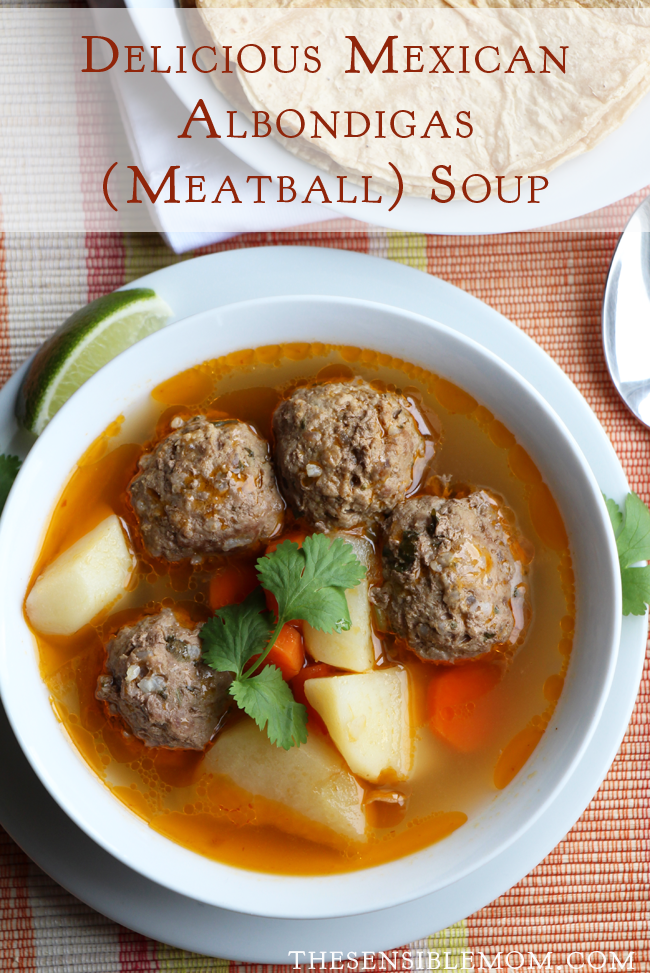 Latin Food Recipe: Delicious Mexican Albondigas Soup