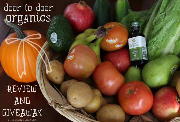Door to Door Organics Review & Giveaway! #JoyDelivered