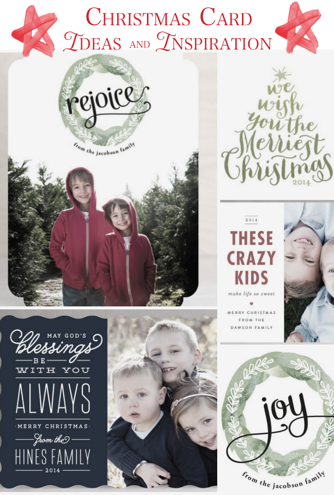 christmas card ideas and inspiration