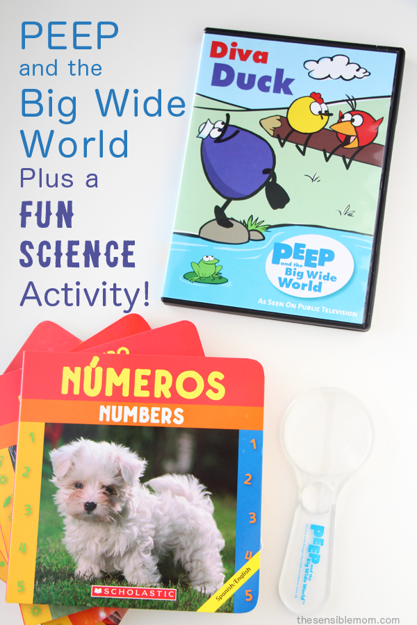 I love the Peep and the Big Wide World children's videos, games, and activities! I'm also sharing a video for a fun Mentos Science Project to try with your kids! #Mentos #Science #Experiments #Homeschool