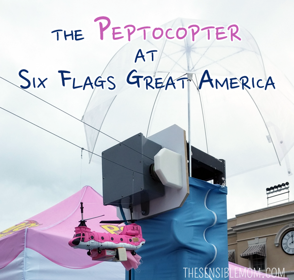 Six Flags Great America, a Crazy Funnel Dog, and the Peptocopter