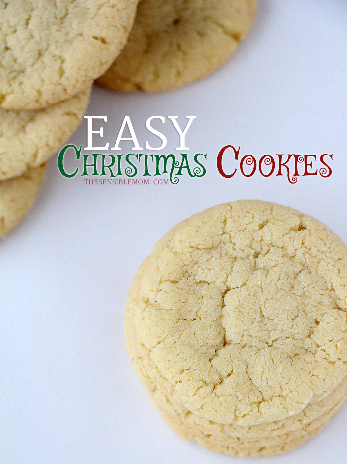 this is a recipe for deliciously easy christmas cookies use sprinkles melted chocolate