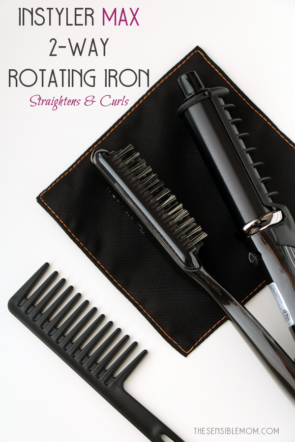 Get beautifully styled hair with these Instyler hair tools #RSVPinStyler